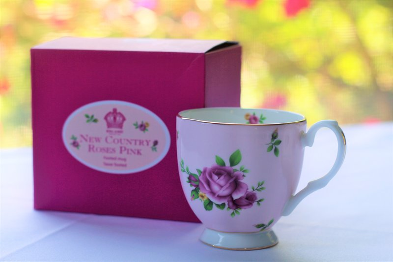 Mother's Day Deluxe High Tea For Two with Classic Royal Albert Mug.
