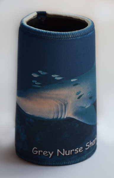 Grey Nurse Shark 2 Stubby Cooler