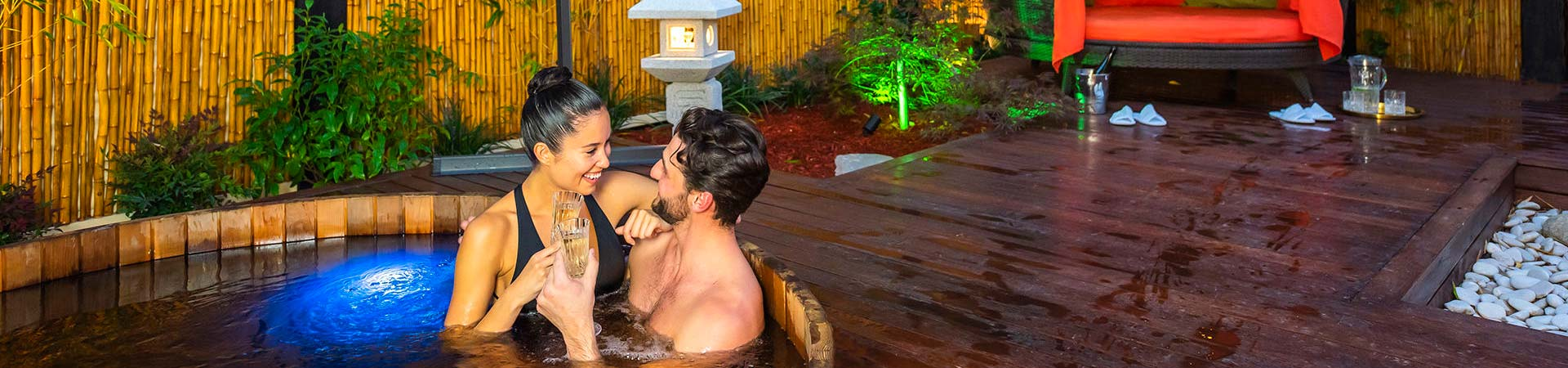 Japanese Mountain Retreat Mineral Springs and Spa header