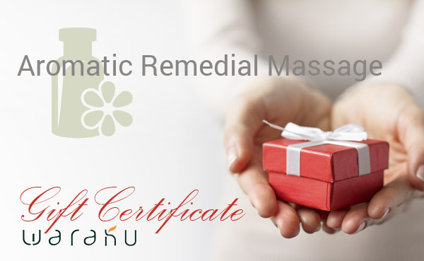 75 Minute Aromatic Remedial Massage