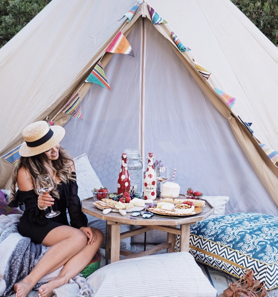 Glamping Bell Tent 1