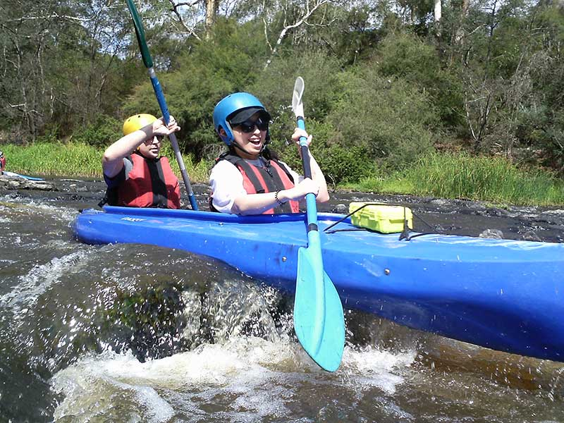White Water Kayaking & Abseiling Day Tour