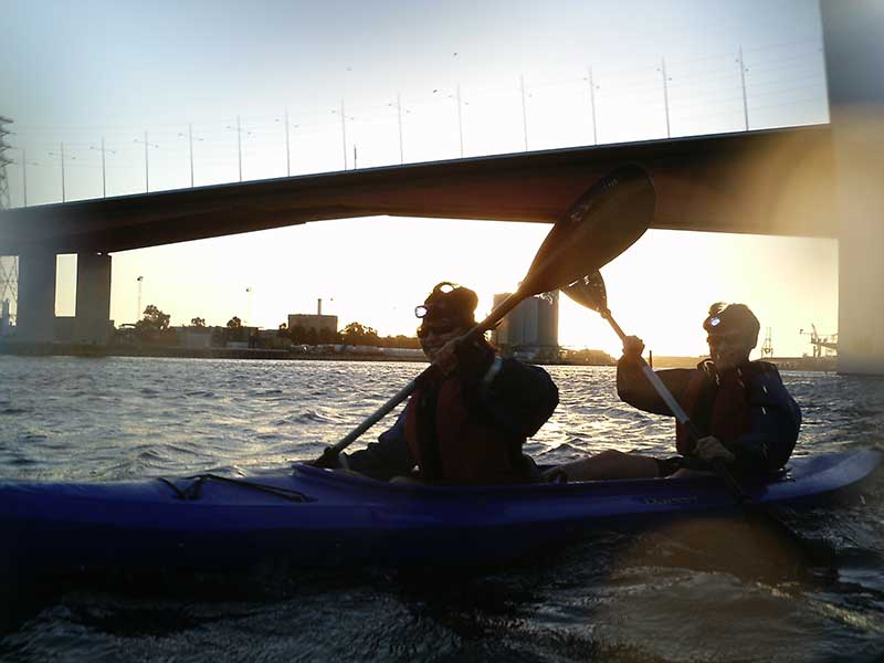 Melbourne City Lights Kayak Tour