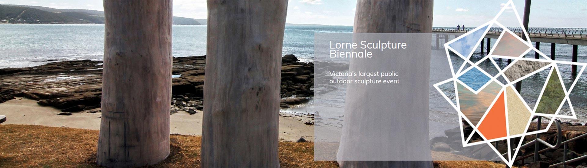 Lorne Sculpture Biennale header