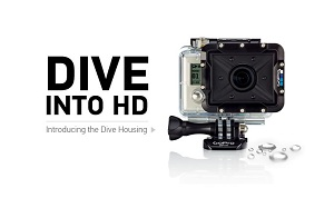 GoPro Underwater video Camera Hire with SD card