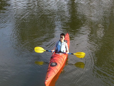 Kayak Hire - 1/2 Day (Single Kayak and Self Guided)