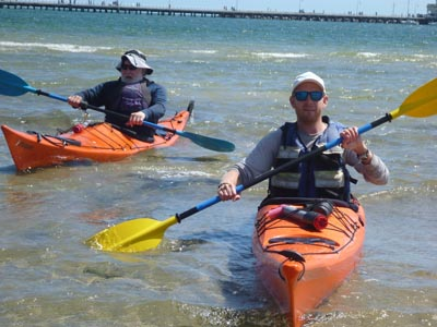Introduction to Sea Kayaking - 2 Day Course @ St Kilda