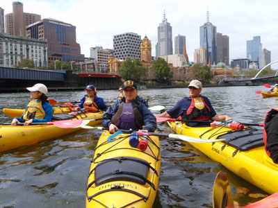 Half Day Kayak Tour (2.5 hours) - Melbourne City or Twilight