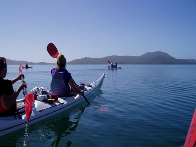 Corner Inlet - Wilsons Promontory - Sea Kayak Tour (1 person for 3 days)